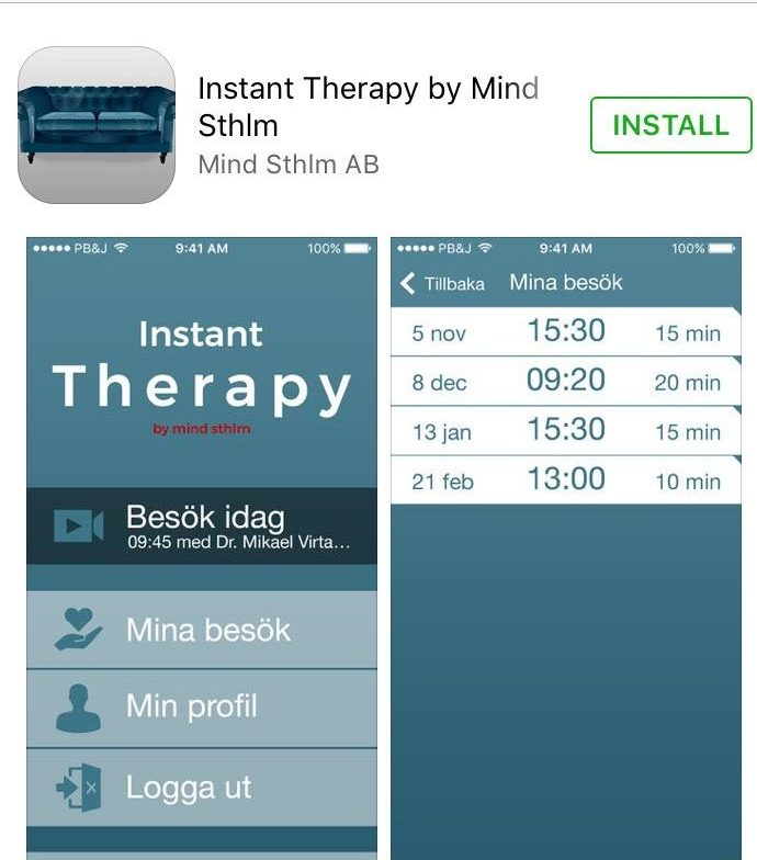 Instant Therapy by Mind Sthlm